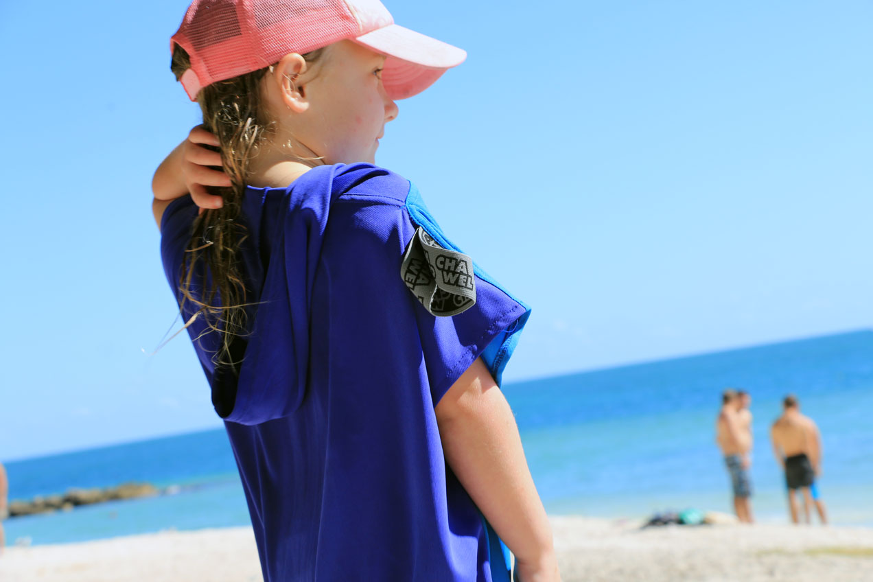 kids beach poncho travel towel