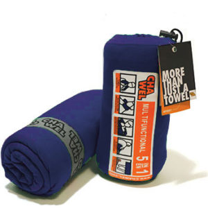 navy chawel quick dry travel towel